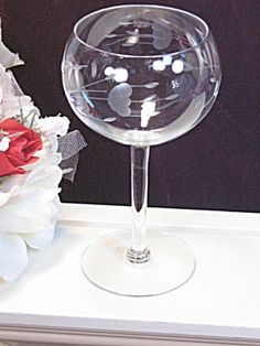 Princess House Crystal Heritage Wine Glass