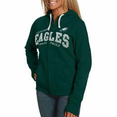 Philadelphia Eagles Preschool Team Logo Long Sleeve T-Shirt - Midnight Green