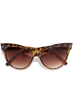 Right Meow Tortoise Sunglasses