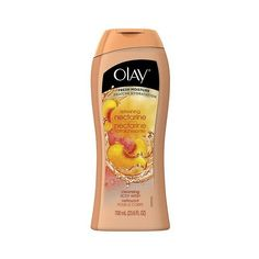 Olay Fresh Outlast Champagne Mango & White Ginger Body Wash ($4.99) ❤ liked on Polyvore featuring beauty products, bath & body products, body cleansers and olay