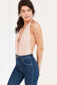 Out From Under Super Plunge Bodysuit - Urban Outfitters