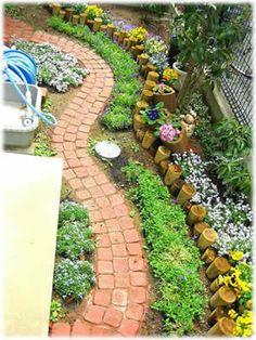 【楽天市場】素敵なお庭づくりコンテスト トップページ> 2008年「第4回 素敵なお庭づくりコンテスト」> エントリーNo.7 なーさま:お庭の玉手箱