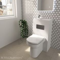Toilet with Sink on Top - Stuck for Space? You Need a Toilet with Integrated Basin - Unique Toilet with Built in Sink - Fast Delivery or Click and Collect. Space Saving Toilet, Small Toilet Room, Small Bathroom, Bathroom Ideas, Loft Bathroom, Family Bathroom, Toilet And Sink Unit, Toilet Sink, Sink Toilet Combo