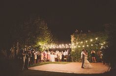 The perfect dance floor | Green Wedding Shoes: Summer Wedding in Spain: Kelly + Mikey