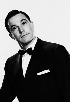 Gene Kelly.  This is the way Danny looks at me when he's being funny.  I give him the same look back.