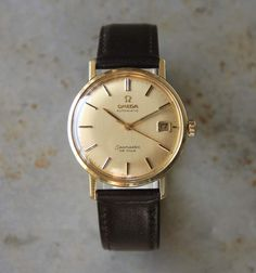 Vintage Watches Collection : Omega Seamaster De Ville gold 1966 - Watches Topia - Watches: Best Lists, Trends & the Latest Styles Omega Seamaster Diver 300m, Omega Seamaster Automatic, Omega Speedmaster, Best Watches For Men, Luxury Watches For Men, Cool Watches, Stylish Watches, Patek Philippe, Omega Railmaster