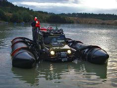 Happy Mod Monday Jeep fans! Who needs a pontoon boat when you can make your own?