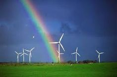 Wind turbines are powered by wind and therefore conduct electricity.