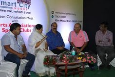 Consultation Meeting with Sports Associations & Sports Clubs_2 #IndoreSmartCity #SmartCity #Indore