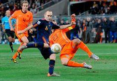 Andrés Iniesta. El gol que nos dio la estrella