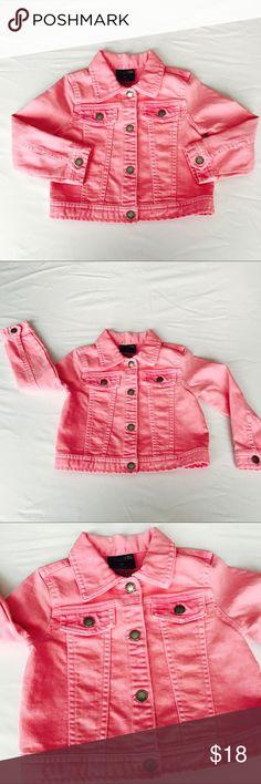 Genuine Kids Osh Kosh Pink Jean Denim Jacket 3T Girls Genuine Kids Pink Jean Denim Jacket 3T Excellent condition no flaws Osh Kosh Jackets & Coats Jean Jackets