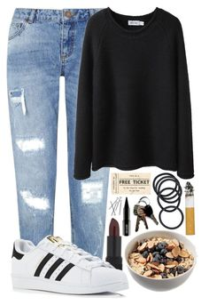 """#23"" by oneandonlyfashion ❤ liked on Polyvore featuring NARS Cosmetics, Miss Selfridge, adidas, Steven Alan and Lord & Berry"