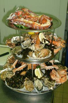 Sa c 39 est du plateau de fruit de mer pltx pinterest fruit - Decoration plateau fruit de mer ...