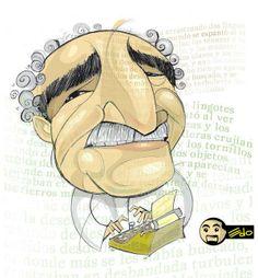 Caricatura de #Gabo.