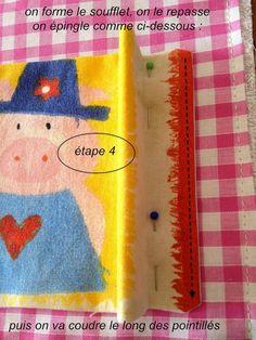 Les Astuces de Fée Paillette: Tuto Couture facile DIY : coudre un panneau mural vide poches pour bébé