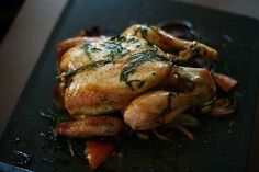 How To Carve a Chicken (or a Turkey or a Duck)