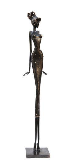 Frédérique - 110 cm - Sculpture en bronze, pièce unique