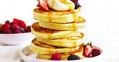 Ditch the packet version and make your own pancakes in just four steps!