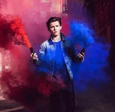 Tom Holland for Spider-Man homecoming