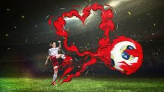 Based in Switzerland, The World Heart Federation, in partnership with UEFA, the Swedish Heart-Lung Foundation and the Swedish Football Association are coming together… Go Red, Campaign, Healthy Heart, Animation, Creative, Illustration, Goal, How To Make, Cardiovascular Disease