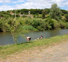 Relax sulle rive del fiume Tirso a  Fordongianus. Info www.forumtraiani.it