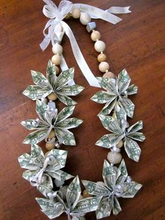 Wedding money lei *i would much appreciate this*