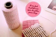 DIY : guirlande de photo polaroids - Poulette Magique - blog DIY & déco - Narbonne