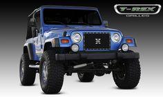 97-06 Jeep Wrangler TJ T-Rex Grille