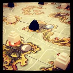 Akrotiri by Z-Man Games  Photo by: @SHeartsOrRivals youtube.com/sweetheartsorrivals