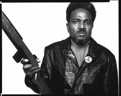 Richard Avedon - David Brothers of the Black Panther Party