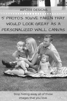 How To Display Your Family Photographs | Ideas For Home Decor Art Work | Personalized Art Work Collections | Canvas Wall Art