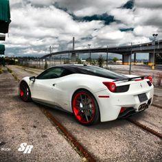 Ferrari 458 italia Project Ice Blade