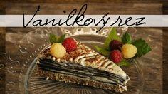 RAW Vanilkový rez s čokoládovou kožou