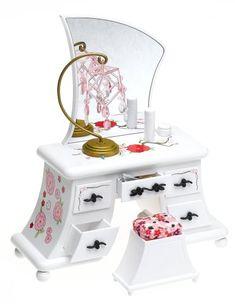 Amazon.com: Barbie Fashion Fever Vanity: Toys & Games