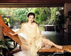 Aurora Pijuan, former Miss International in her 60s. Still gorgeous.