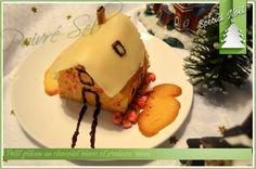 Petit gâteau au chocolat blanc et pralines roses Pralines Roses, Tables, 3d, Recipes, Mesas