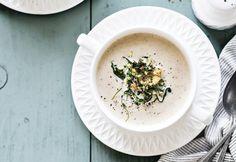 Paahdettu valkosipuli-kukkakaalikeitto | Koti ja keittiö