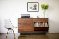 Great cabinet for vinyl