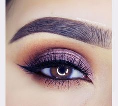 gorgeous purple smokey eye ~ we ❤ this! moncheribridals.com