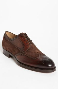 Magnanni 'Rolo' Wingtip (Online Only) available at #Nordstrom