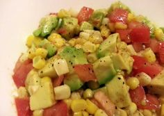 Avocado-Corn Salad Recipe -  Are you ready to cook? Let's try to make Avocado-Corn Salad in your home!