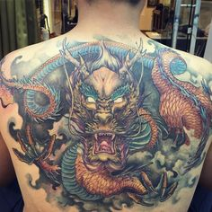 3491a7d43 Badass Dragon Tattoos | TAM Blog Asian Dragon Tattoo, Dragon Tattoos, Asian  Tattoos,