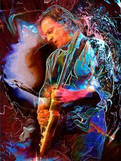 David Gilmour | Pink Floyd http://www.rockstargallery.net/