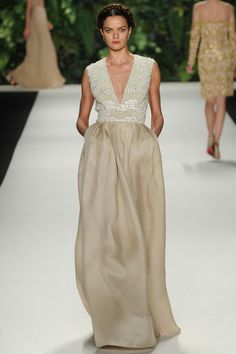 Naeem Khan | Spring 2014 Ready-to-Wear Collection | Style.com - color, embellishment, shape