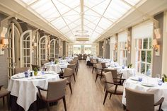 The Dining Room at Chewton Glen...
