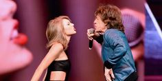 Taylor Swift Mick Jaggar | Taylor Swift and Mick Jagger Sings Satisfaction at 1989 Tour in ...