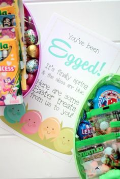 She's {kinda} Crafty: You've Been Egged!