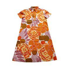 VINTAGE 60/70's / enfant / robe / coton par Prettytidyvintage