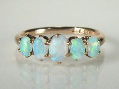 antique opal ring ~ in love with Opals....