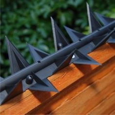 Details about Stegastrip® Fence Wall Spikes Garden Security, Intruder deterrent Anti-Climb - Deborahs Haus Home Security Tips, Wireless Home Security, Security Cameras For Home, Safety And Security, Home Security Systems, House Security, Security Fencing, Backyard Fences, Diy Fence
